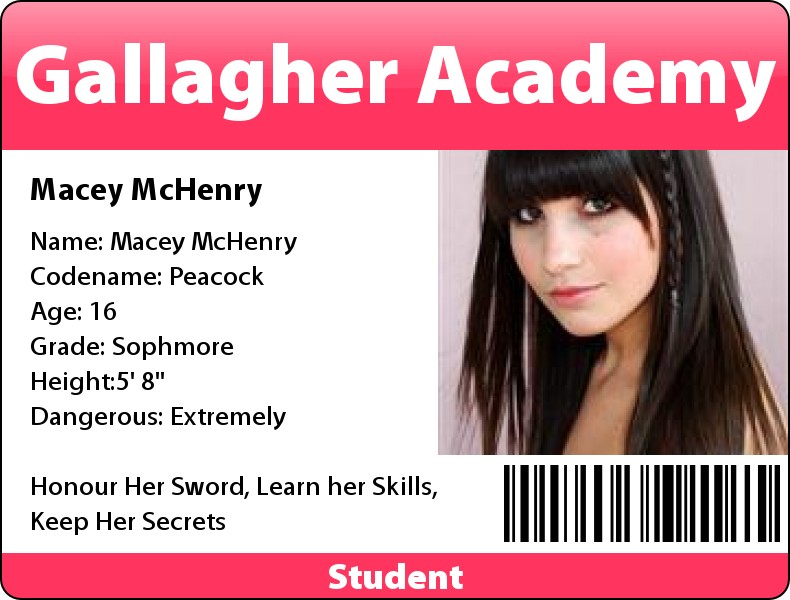 macey mchenry gallagher badge students wikia deviantart morgan