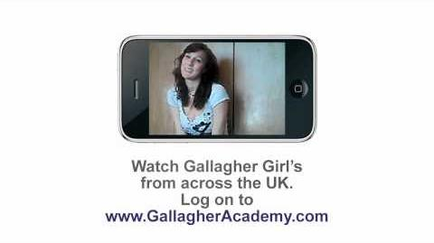 Gallagher Girls Cross My Heart & Hope To Spy Cammie Morgan's Webcast 9