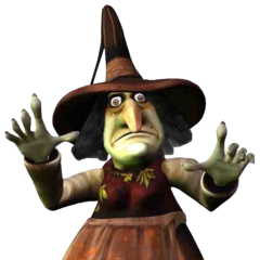 The Pumpkin Witch in <i>MediEvil: Resurrection</i>.