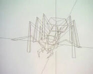 Ant soldier wire-model