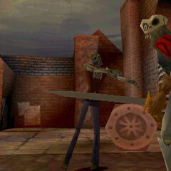 Another early version of a zombie in <i>MediEvil 2</i>.