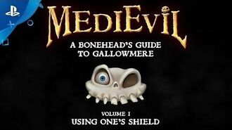 MediEvil - Using One's Shield PS4