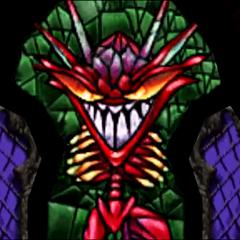 Stained Glass Demon before his awakening.