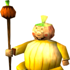 The Pumpkin Witch in the original <i>MediEvil</i>.