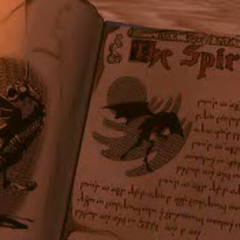 The Jabberwocky, as seen in Zarok's spell book during <a href=