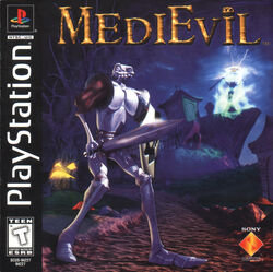 MediEvil - Front Cover NTSC