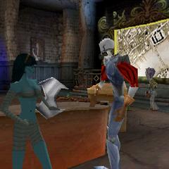 Screenshot of the Professor's early model.