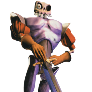 A render of Dan from <i>MediEvil 2</i>.