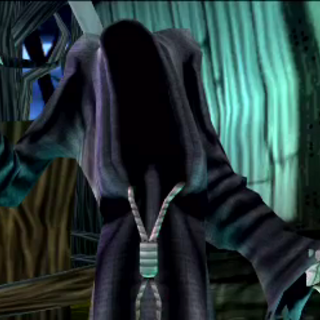 Death during a cutscene.