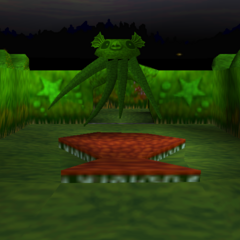 The Hedge Octopus from the original <i>MediEvil</i>.