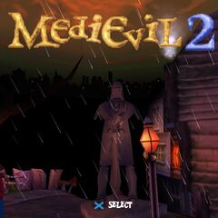 A statue of Dirk Steadfast as seen in <i>MediEvil 2</i>.