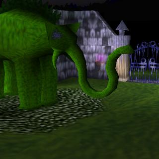 The Hedge Elephant from the original <i>MediEvil</i>.