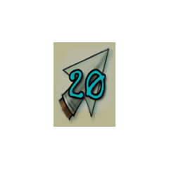 20 arrows.