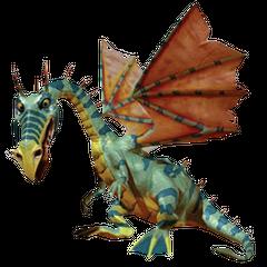 The Dragon in <i>MediEvil: Resurrection</i>.