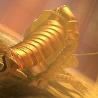 Zarok's defeat, as depicted in <a href=