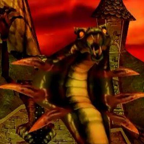 Zarok Serpent before the fight.