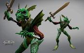 Dragon armor