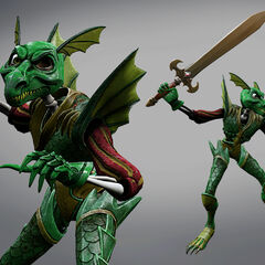 Dragon Armour render.