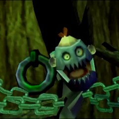 Mr. Axey in a cutscene.
