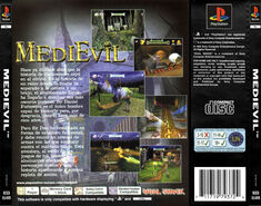 MediEvil - Back Cover PAL