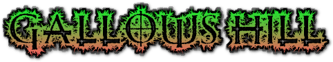 Gallows hill name logo