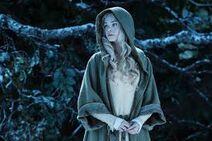 Rosalie in cloak