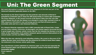 The green seg