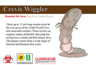 Crevis wiggler