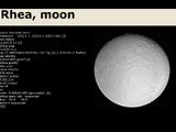 Rhea, Moon
