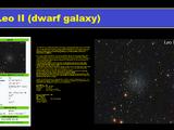 LEO II galaxy