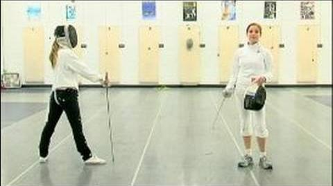 Foil Fencing Attacks The Coupe & Foil Fencing-0