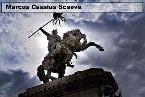 Marcus Cassius Scaeva