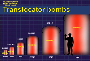 Translocator bombsTranslocator bombs