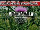 Scottish Gaelic Swear Words