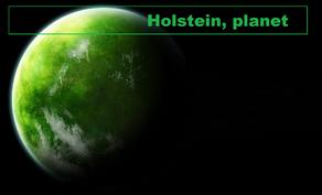 Holstein planet