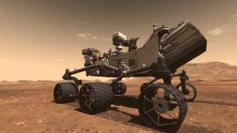 Mars Science Laboratory Curiosity Rover Animation