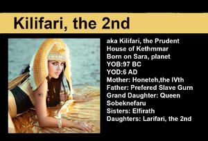 Aka Kilifari, the Prudent