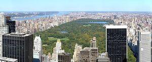 Central Park October 2008