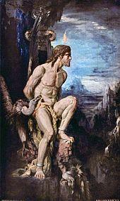 Gustave Moreau Prometheus