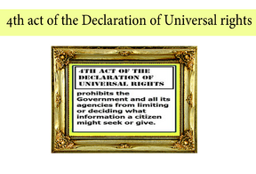 4th act of the Declaration of Universal rights
