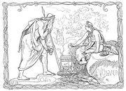333px-Odin og Völven by Frølich