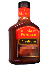 Ol' Blast Furnace sauce