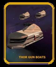 Thor gun-boats