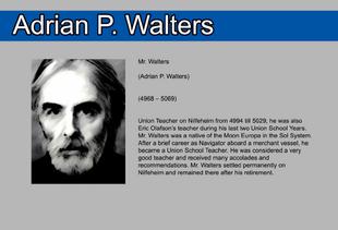 Adrian P Walters