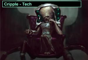 Techno kribble