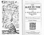 Godwin man in the moone first edition