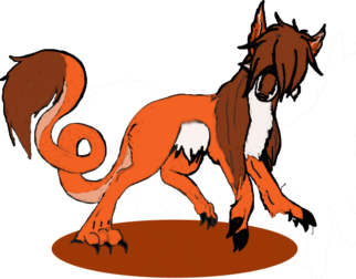 Saresii copper fox