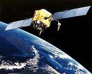 GPS Satellite NASA art-iif