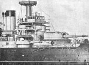220px-French battleship Suffren conning tower detail