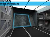 Airlock membrane
